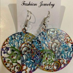 Multi-Colored Earrings
